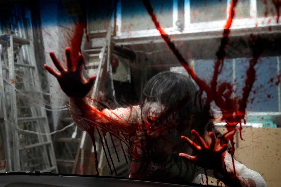 I Japan erbjuds nu zombiechock som ett sätt att få folk att glömma bort coronapandemin.