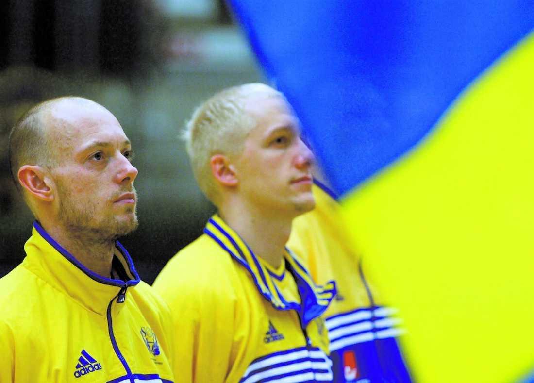 Magnus Andersson och Johan Petersson ska hjälpa svensk handboll.