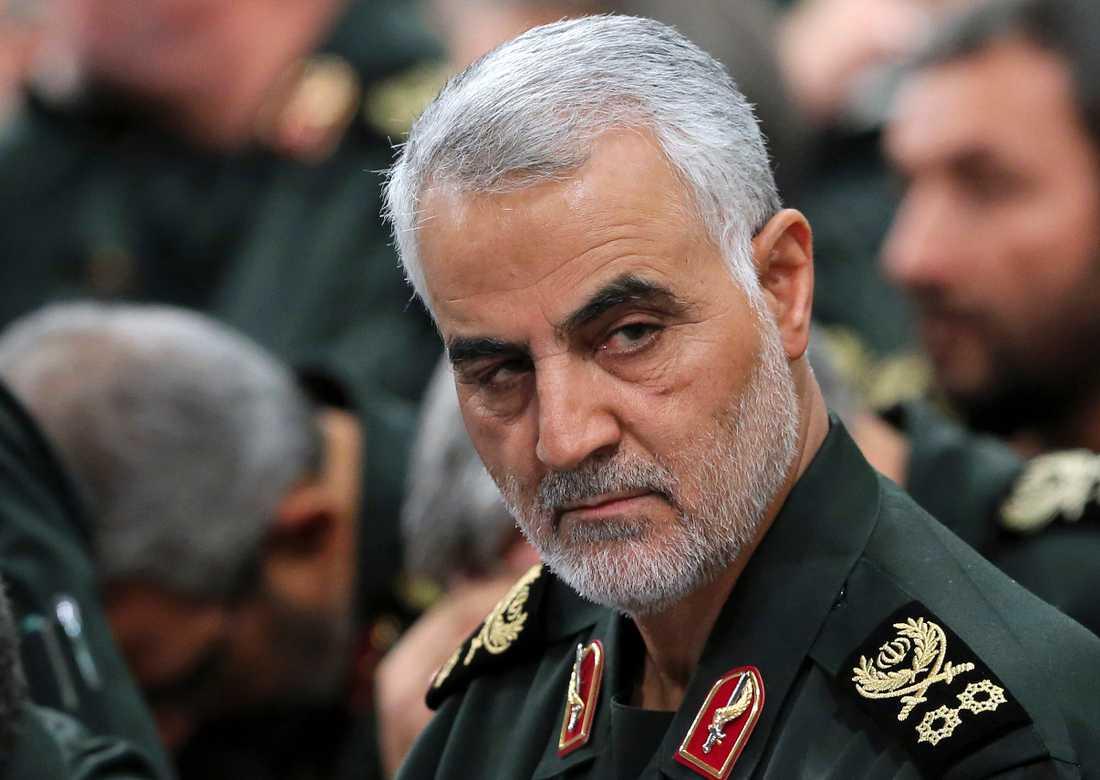 Generalmajor Qassem Soleimani. Arkivbild.