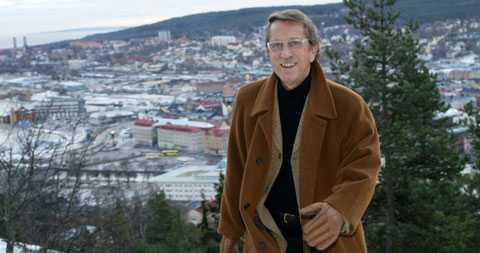 Kjell Lönnå är positiv till Sundvall som Norrlands huvudstad. – En rejäl tätort som ligger mycket strategiskt, säger körkungen.