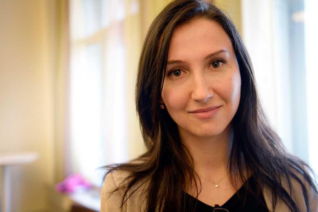 Aida Hadzialic (S), tidigare gymnasie- och kunskapslyftsminister.