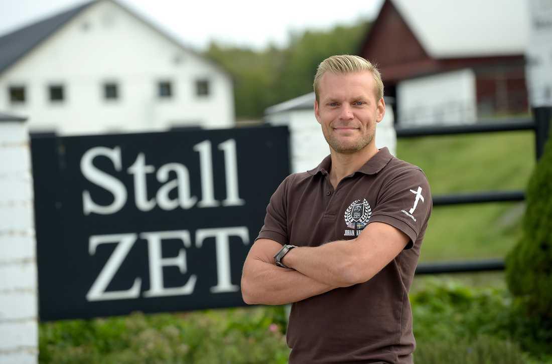 Johan Arneng är i dag ansvarig för Stall Zets avelsverksamhet