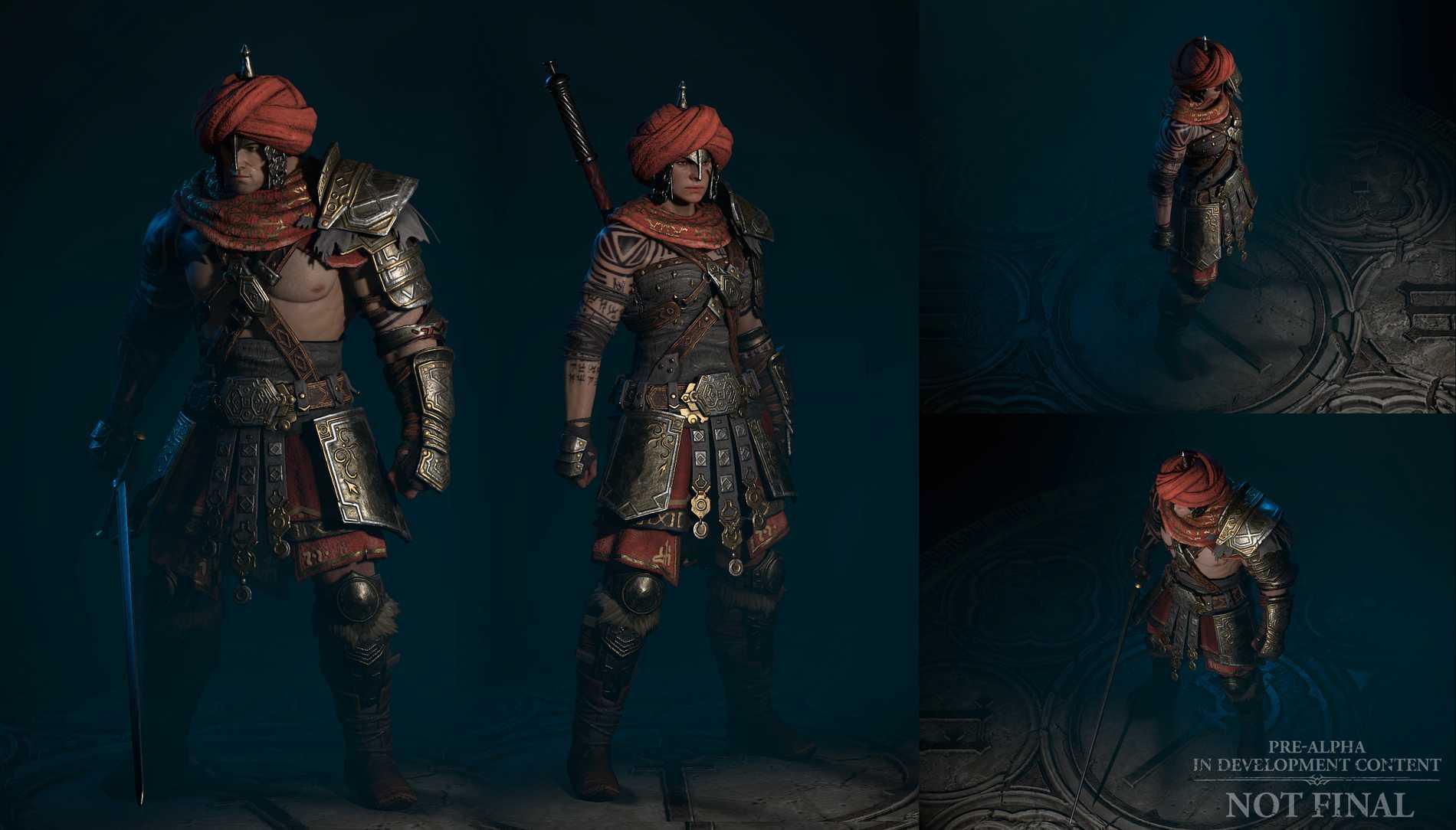 "Barbarian i ""Diablo 4""."