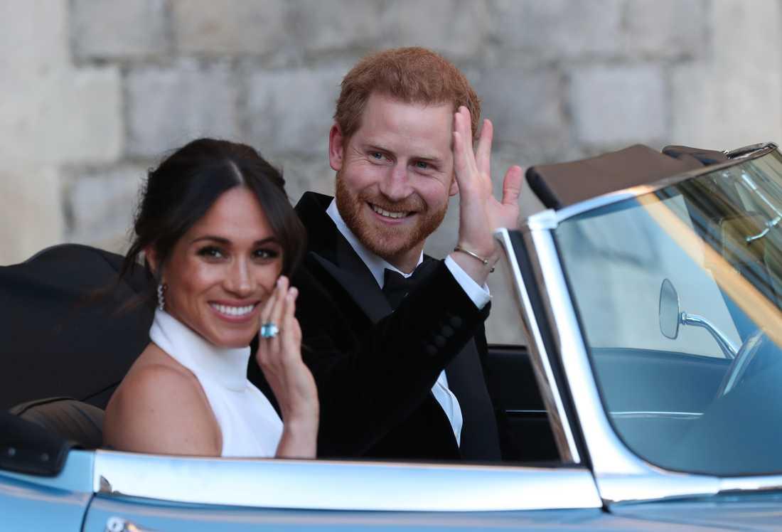 Harry och Meghan vill bli ekonomiskt oberoende och därmed slippa vara beroende av apanage från drottningen. Arkivbild.