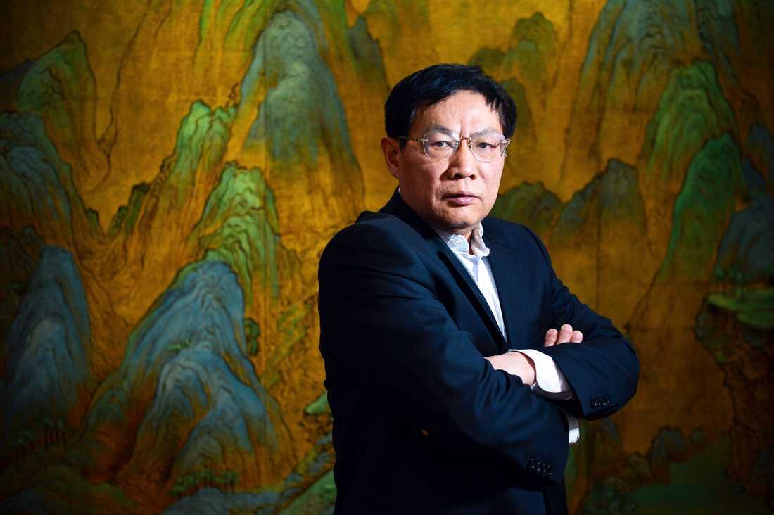 Affärsmannen Ren Zhiqiang har tidigare varit en anhängare av Kinas kommunistparti men är nu regimkritiker. Arkivbild.