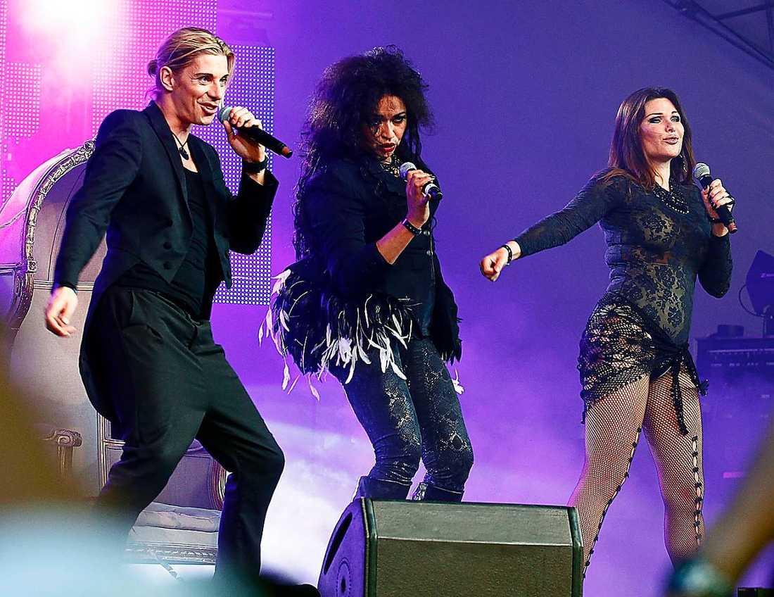 """Bard sågar.""""Miss Inga"""", La Camilla och Dominika Peczynski laddar för debut Melodifestivalen."""