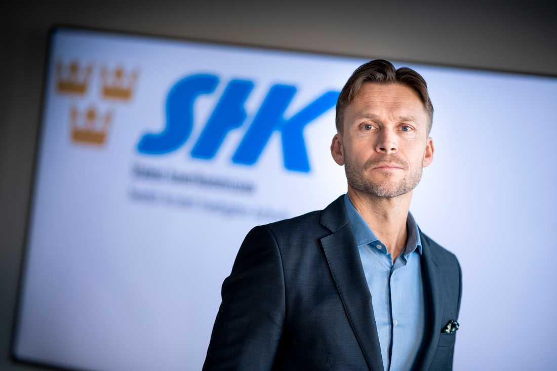Peter Swaffer, avdelningschef vid Statens Haverikommission och Sveriges expert i utredningen. Arkivbild.