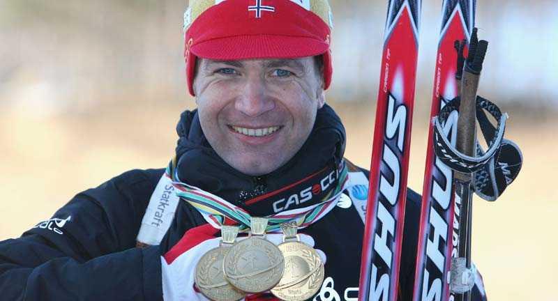 STÖRST Ole Einar Björndalen tog VM-guld nummer tre...och världscupseger 87.