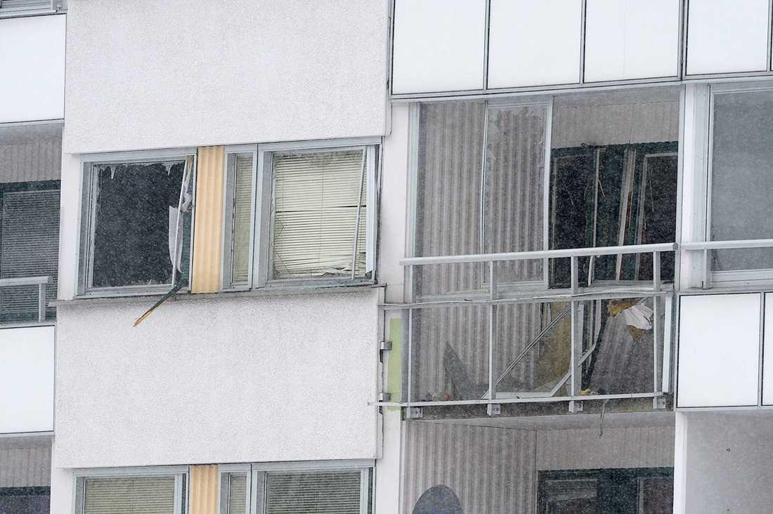 Den urblåsta lägenheten.