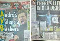 Engelska tidningar.