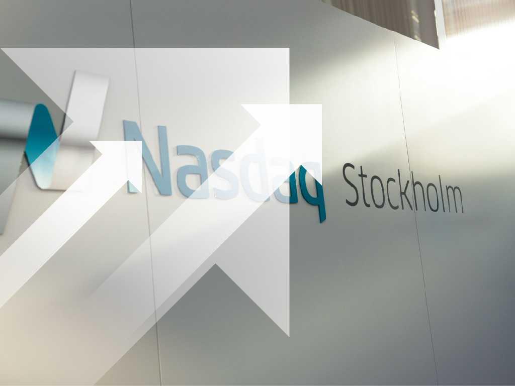 Stockholmsbörsen steg rejält på tisdagen. Bildmontage.