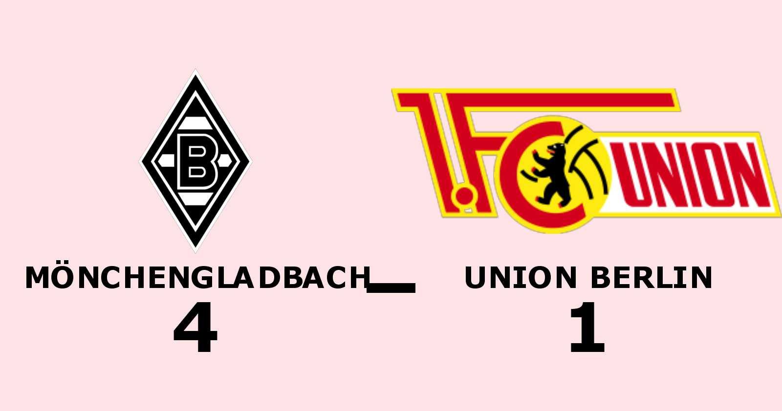 Mönchengladbach segrare hemma mot Union Berlin - Thuram matchvinnare