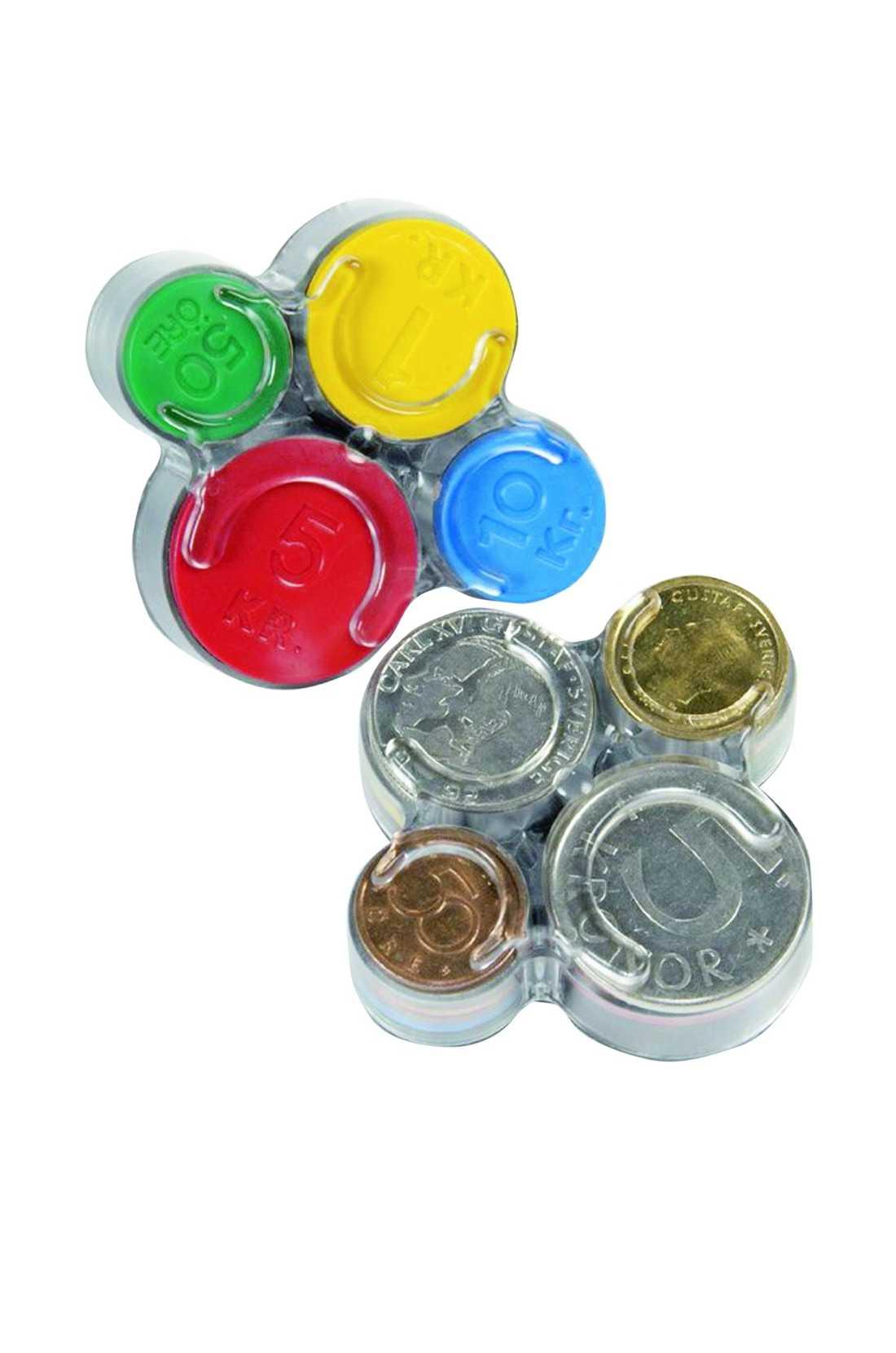 Slipp skramlande mynt i väskan med denna klassiska myntbox. Den kostar 45 kronor på www.guapo.se