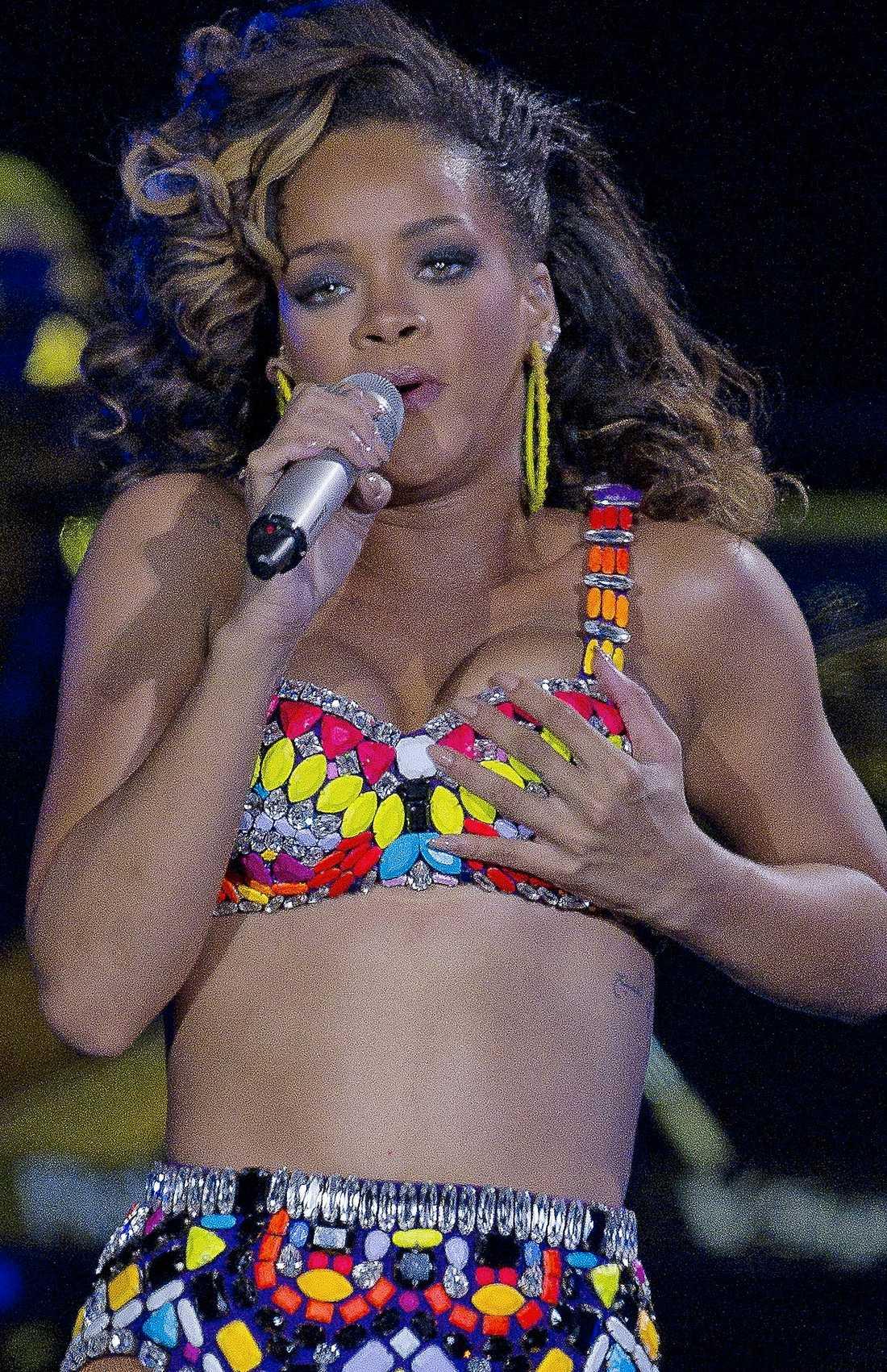 Rihanna spelar i Malmö i kväll.