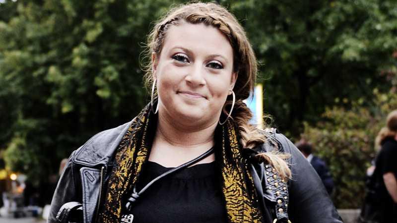 Sarah gillar att sjunga i New York