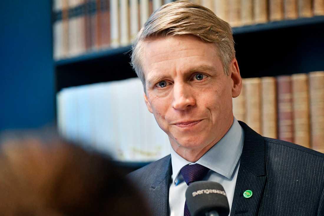 Per Bolund (MP) har fått ansvar för bostadspolitiken i den nya regeringen.
