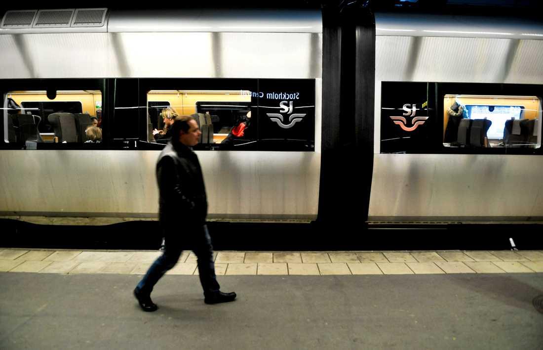 Tågstoppet mellan Hudiksvall och Gnarp väntas bli hävt först natten mellan torsdag och fredag. Arkivbild.