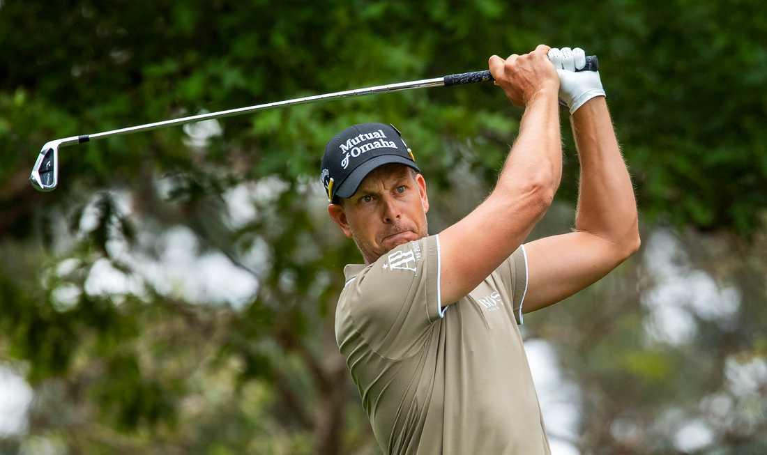 Henrik Stenson stod för en stark avslutning på andra rundan i US Masters.