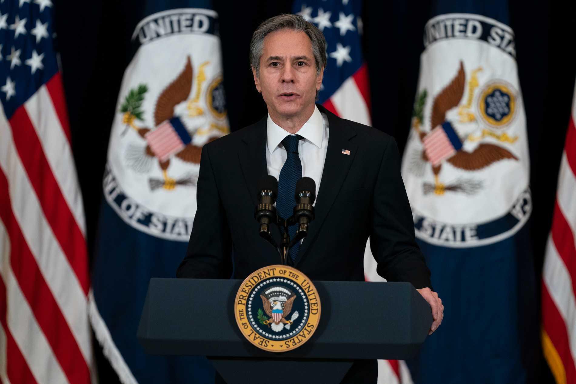 USA:s utrikesminister Anthony Blinken.