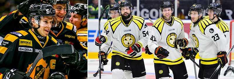 Skellefteå och Brynäs möts i kvartsfinal.