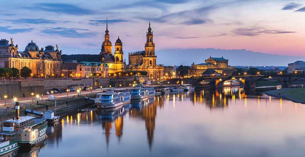 Dresden bjuder på konst, kultur och vackert porslin.