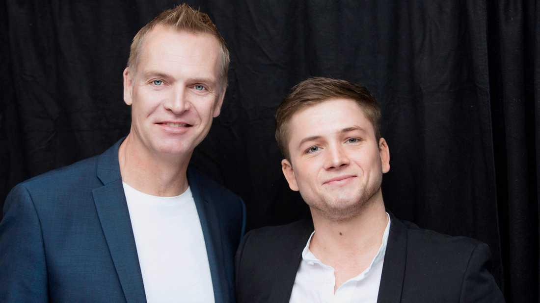 Nöjesbladets Magnus Sundholm mötte Taron Egerton i London.