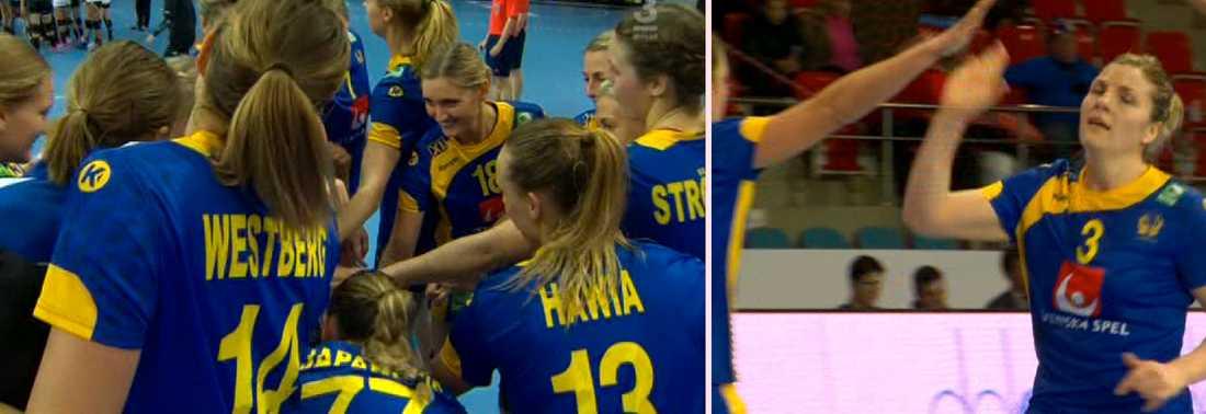 Sverige körde över Mexiko i första kvalmatchen.