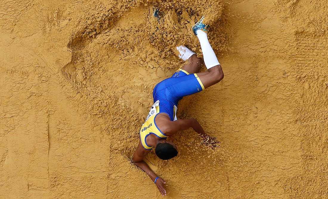 Michel Tornéus VM i Moskva är över. Tornéus missade finalen i längdhoppskvalet då han stod för ett övertramp i tredje försöket.
