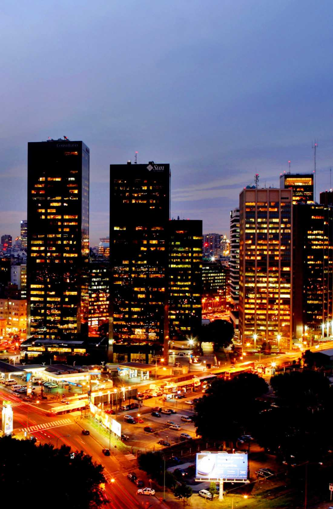 Buenos Aires är verkligen en storstadsdjungel. Här bor 13 miljoner människor.