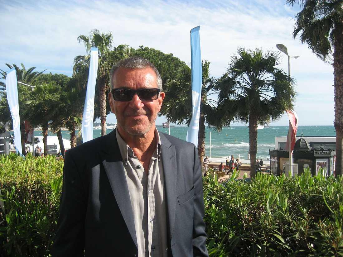 Kjell Bergqvist berättade om filmen för första gången på filmfestivalen i Cannes. Nu ska den bli av på riktigt.