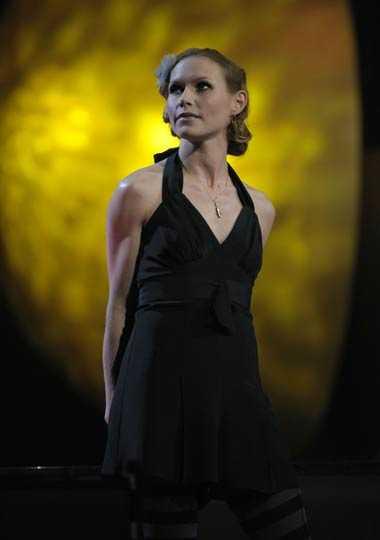 Nina Persson uppträdde och delade ut pris.
