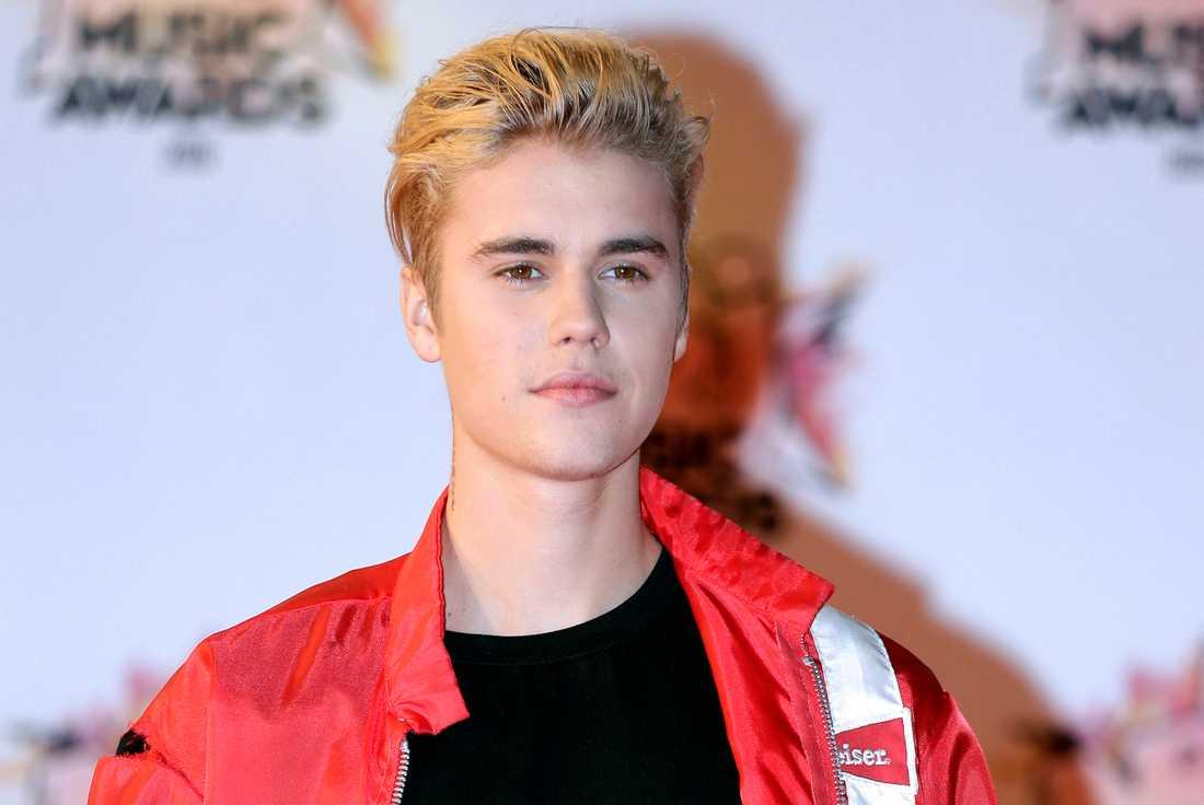 Justin Bieber tackade nej.