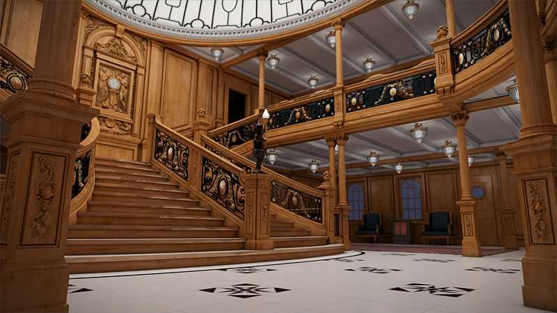 Stora trappan.