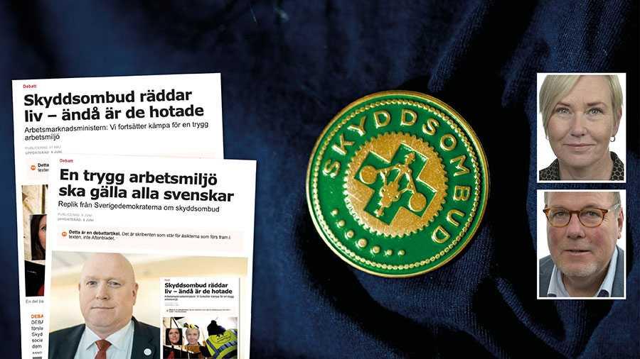 Den okunskap som SD avslöjar är skrämmande. Magnus Persson, arbetsmiljöpolitisk talesperson för partiet, verkar inte ha den mest grundläggande kunskap om hur systemet med regionala skyddsombud fungerar, skriver Anna Johansson och Johan Andersson.