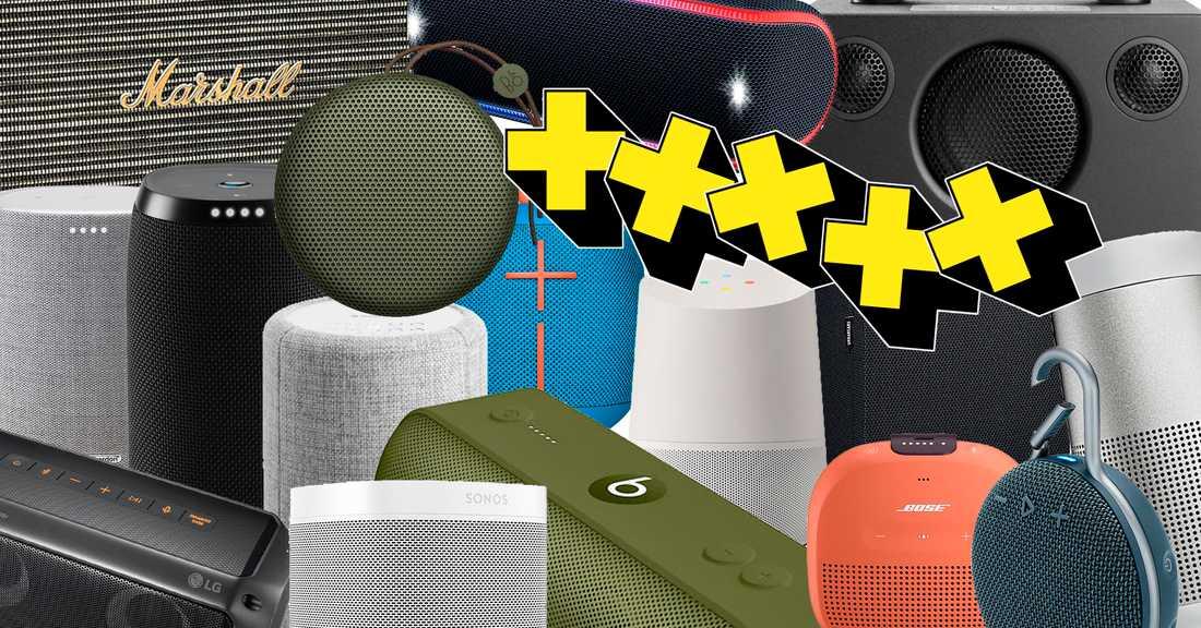 trådlösa högtalare utomhus test