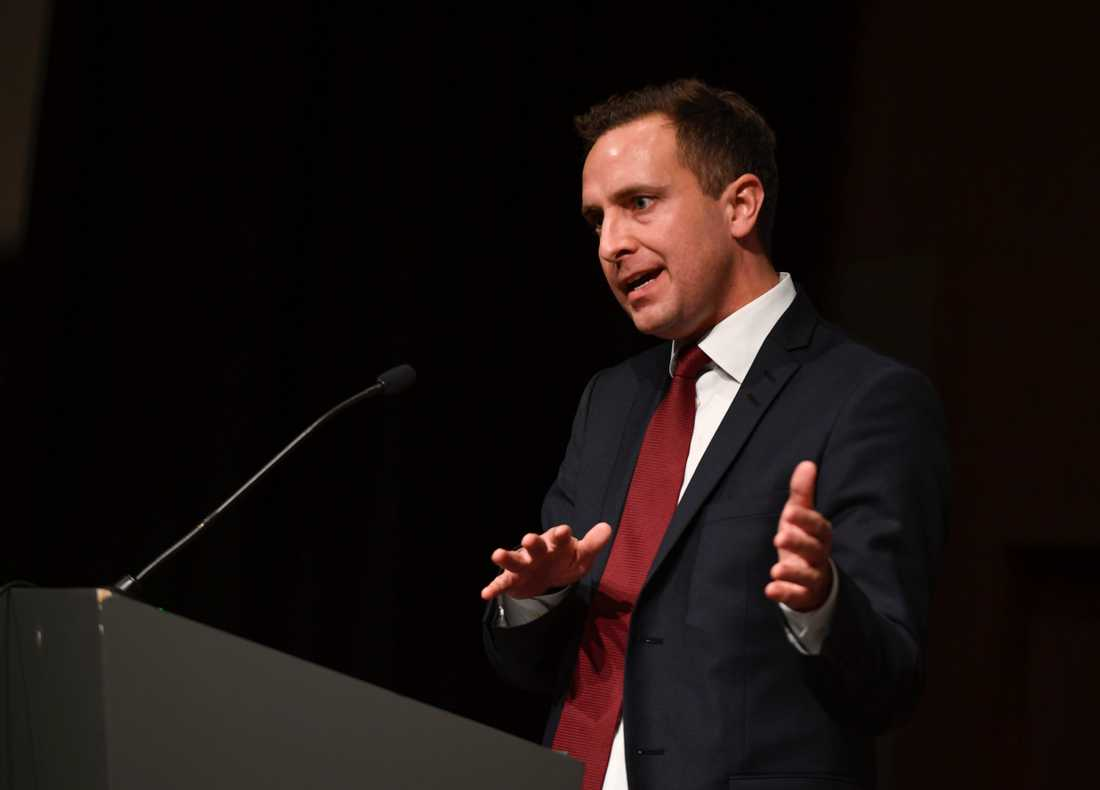 Tomas Tobé, Moderaternas toppkandidat till Europaparlamentet och ledamot av riksdagens EU-nämnd. Arkivbild.