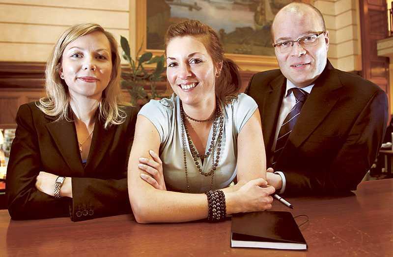 Triss i experter Mer för pengarnas egen bankjury består av Josefin Jansson, privatrådgivare, Anna Svensson, privatrådgivare och David Haqvinsson, privatmarknadschef.