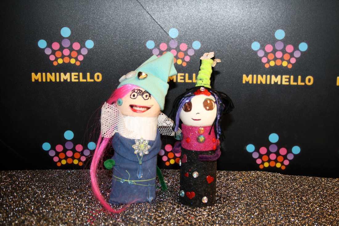 Artisterna som ställer upp i Minimello på SVT.