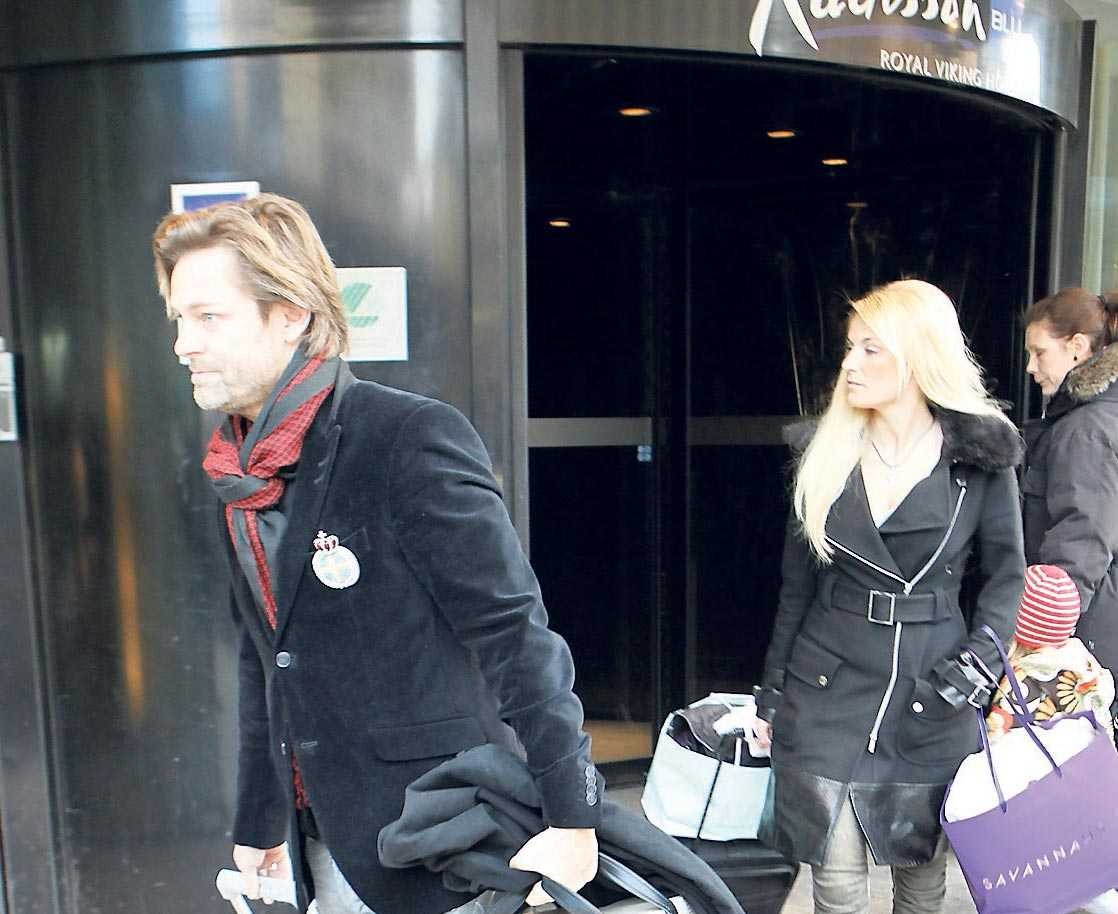Laila och Niclas spenderade bröllopsnatten på Radisson blu Royal Viking Hotel.