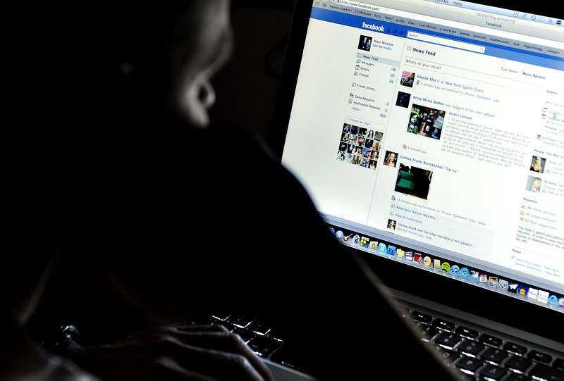 Facebookanvändandet minskar bland unga.