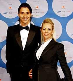 Helena Seger är äldre än sin kärlek Zlatan Ibrahimovic.