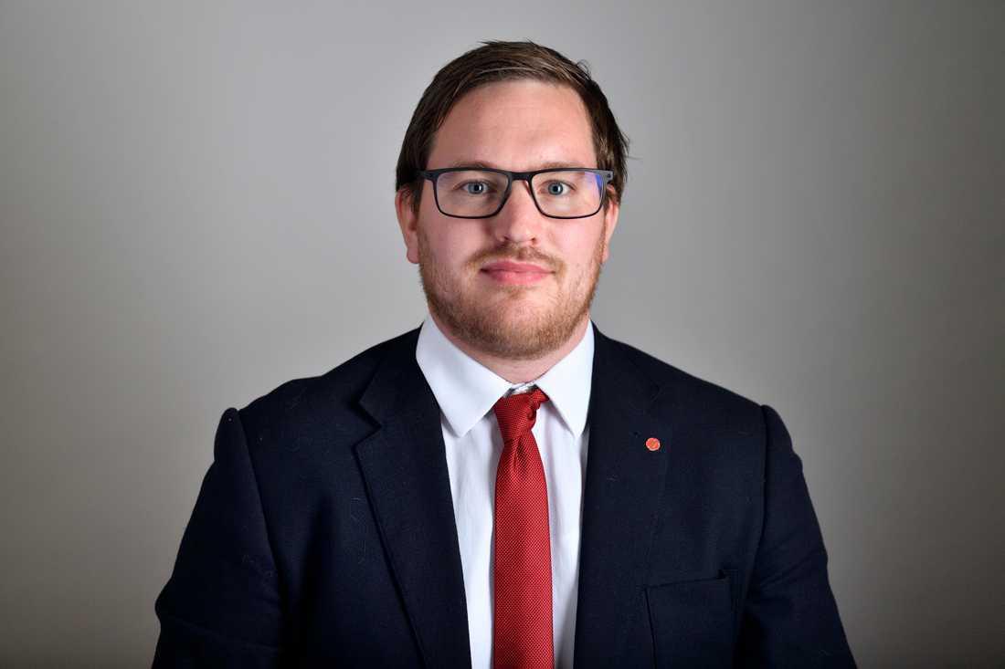 Håkan Svenneling, politiker, riksdagsledamot för Vänsterpartiet. Arkivbild.