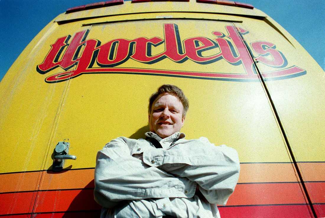 Hårt turnéliv I den här bussen har Thorleif Thorstensson, med band, spenderat många timmar. Under sin karriär levde Thorleifs praktiskt taget på vägarna, med mängder med spelningar inbokade varje år.