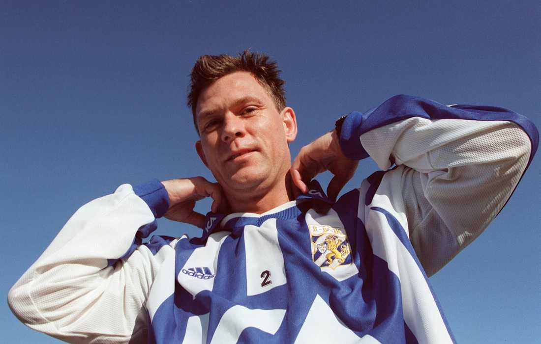 Avslut Pontus Kåmark avslutade sin karriär i IFK Göteborg 2002.