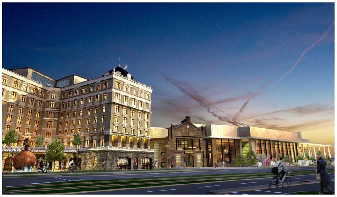 Det nya hotellet ska vara ett upplevelse hotell på temat Ostindiska kompaniet som bildades på 1700-talet.