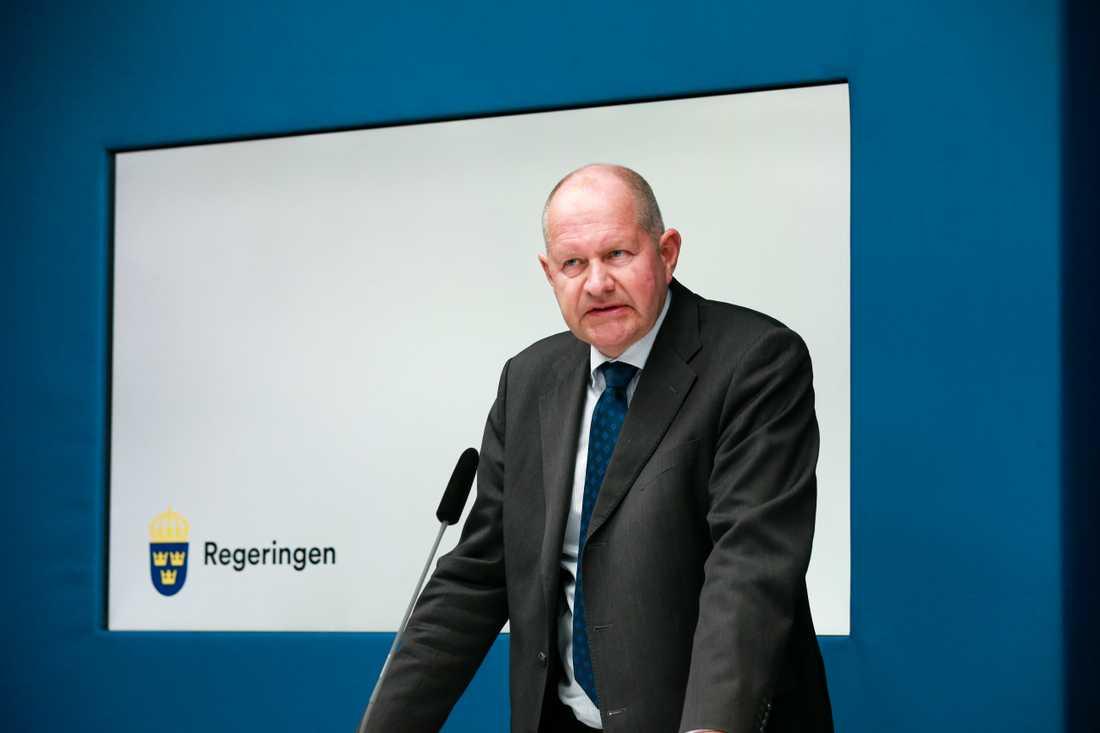 MSB:s generaldirektör Dan Eliasson. Arkivbild.