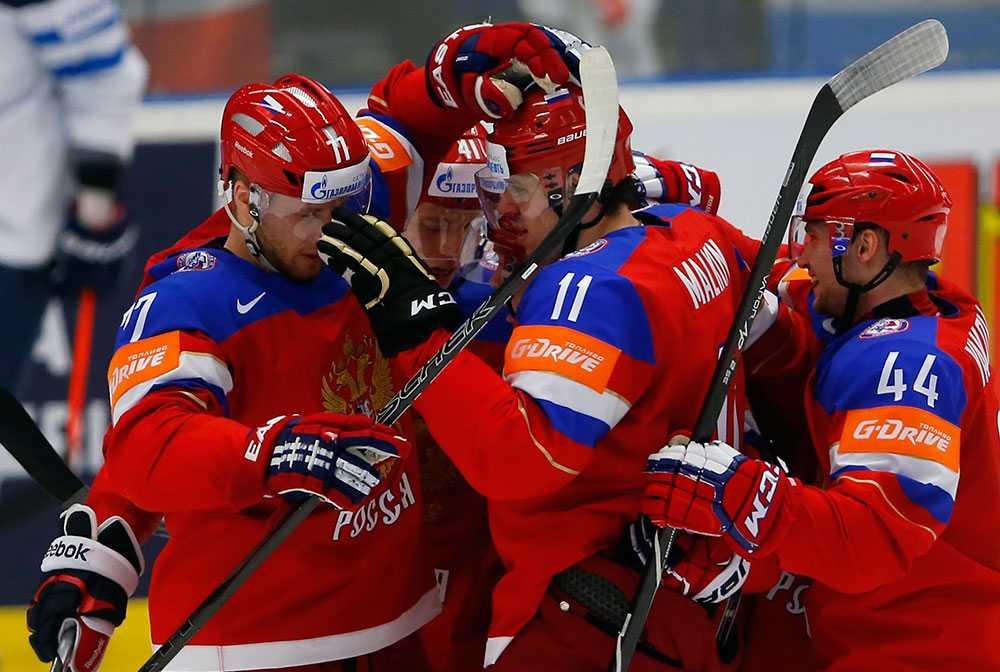 Ryskt jubel i hockey-VM