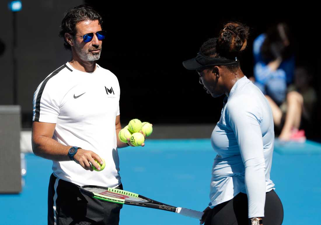 Patrick Mouratoglou, Serena Williams tränare, vill att de styrande i tennisvärlden går ihop och hjälper de lägre rankade spelarna ekonomiskt. Arkivbild.
