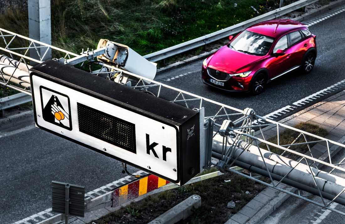 Det blir inga samtal om en eventuell coronapaus för trängselskatten i Stockholm och Göteborg. Arkivbild.