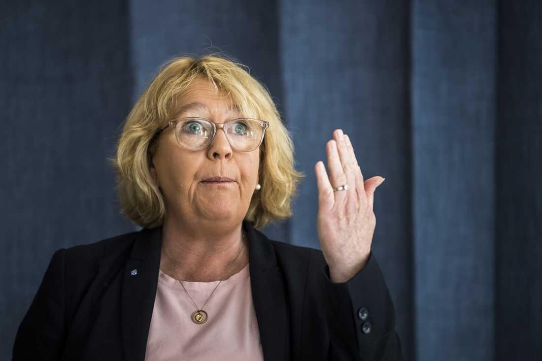 Irene Svenonius, finansborgarråd i Region Stockholm